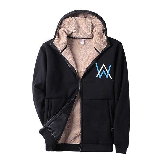 Aivosen Unisex Alan Walker Sudadera con Capucha Outwear Moda Sweatshirt Deportiva Top para Mujeres y Hombres Gran tamaño más Terciopelo Outwear: Amazon.es: ...