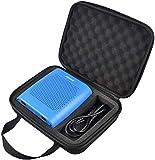 Poschell Duro Viajar Fundas Caso Cubierta Estuche para Bose SoundLink Color II Altavoz Bluetooth (Negro)