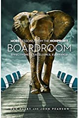 More Lessons From the Nonprofit Boardroom Hardcover