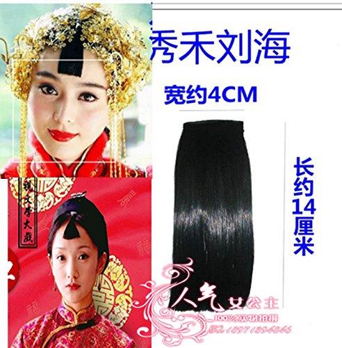 - Custom costume fake bangs piece Ship Liu Haixiu served Qi Feng Liu Hailong small bangs bangs wig piece gown