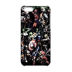 JiHuaiGu (TM) iPhone 6 6S 4.7 Inch funda los Vengadores superhéroes personalizado temático iPhone 6 6S 4.7 Inch funda OJ9191