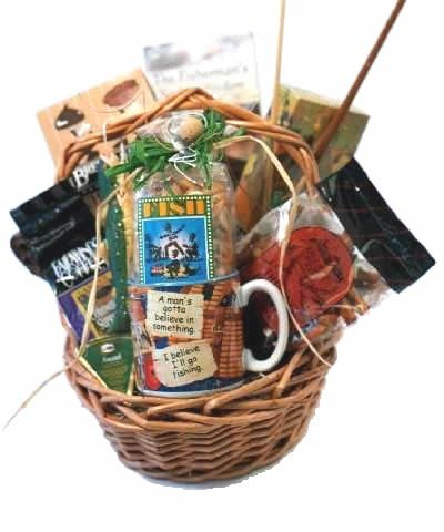 Gift Basket Village Gone Fishin' Gift Basket for Fisherman