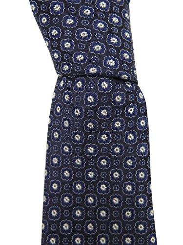 canali-mens-blue-floral-print-neck-tie