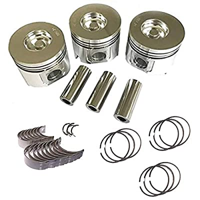 S3L - Main Bearings, pistons and rings, rods: Automotive