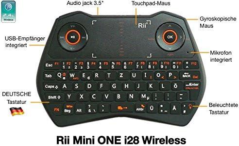 Rii Mini One I28 Wireless Mini Tastatur Mit Computer Zubehör