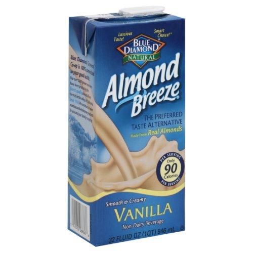 Blue Diamond Breeze Vanilla, 32-ounces (Pack of6) by Blue Diamond Almonds