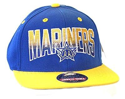 MLB American Needle Seattle Mariners Retro Snapback Flatbill Hat Cap