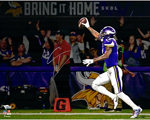 "Stefon Diggs Minnesota Vikings Autographed 16"" x 20"" Minnesota Miracle Touchdown Photograph - Fanatics Authentic..."