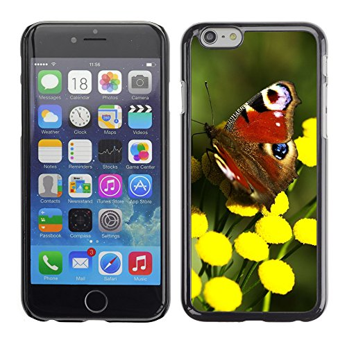 "Premio Sottile Slim Cassa Custodia Case Cover Shell // V00003750 papillon rouge // Apple iPhone 6 6S 6G 4.7"""