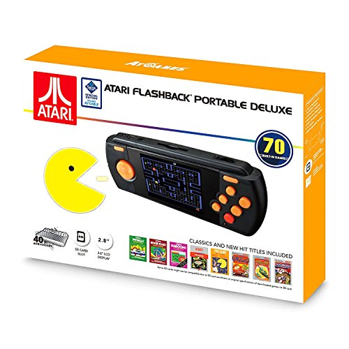 (Atari Flashback Portable Deluxe Edition - Hand Held Console - New 2017!)
