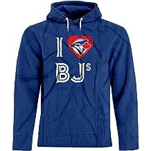 BSW Unisex I Love BJ's Blue Jays MLB Baseball Sex Humor Premium Hoodie