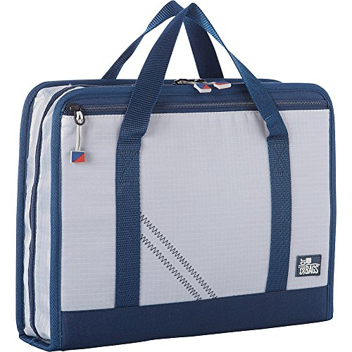 sailorbags-silver-spinnaker-utility-case-silver-with-blue-trim