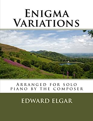 Enigma Variations - for piano solo: arranged by the composer