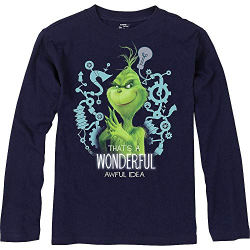 Child Grinch Wonderful Awful Idea Long-Sleeve Shirt | for Christmas; New Year or Birthday Grinch-Theme-Party]()