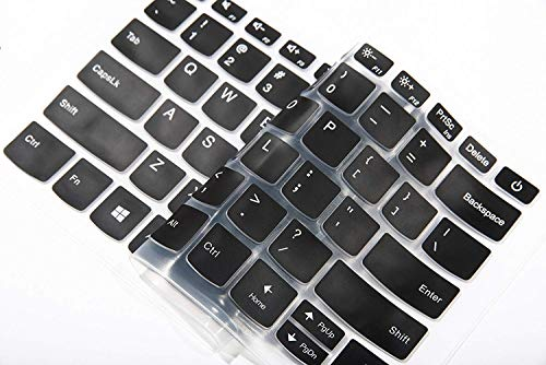 """Saco Keyboard Silicon Protector for Lenovo IdeaPad 2 in 1-14 81CW - 14"""" HD Touch -Transparent"""
