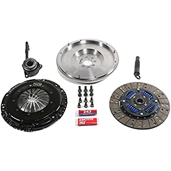DKM Sprung Organic Clutch Kit w/Flywheel for BMW E34/E36/E39/E46/Z3 6 Cyl 5-Spd