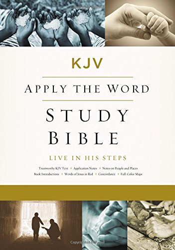 KJV, Apply the Word Study Bible, Large Print, Hardcover, Red