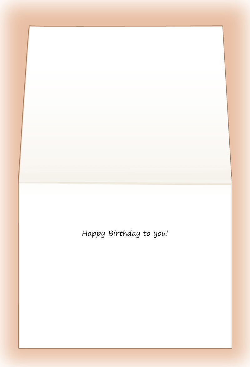 Item No. 03-061-01 Flowers from the Heart Fine Art Birthday Greeting Card with Matching Envelope