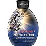 2012 Ed Hardy Black Elixir Silicone Bronzer Tattoo Fade Protection Tanning Lotion 13.5 oz by Ed Hardy BEAUTY