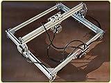 5500mW DIY Laser Engraving machine Laser Engraver Laser Cutter Desktop Laser Cutting Logo Picture Marking 12x16inch Engraving Area