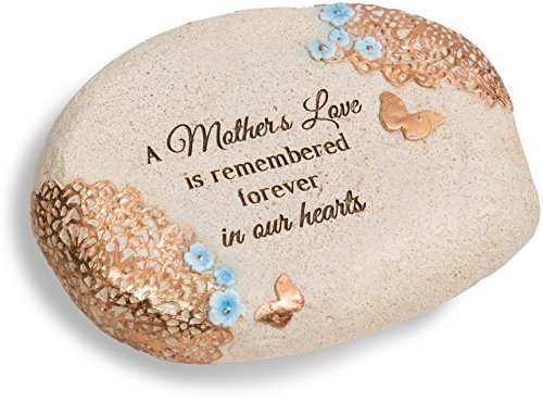 Pavilion Gift Company 19138 Light Your Way A Mother's Love Memorial Stone, 6 x 2-1/2