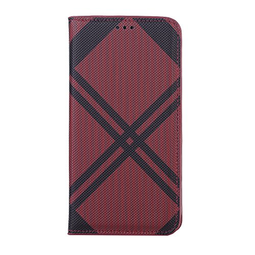 Price comparison product image Wallet Case iPhone Xs Max, Slim PU Leather Flip Protective Cover Card Slots Apple iPhone XR (red,  iPhone Xs Max)