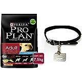 Pro Plan Adult con Optilife Triple Action, Small Breed 7.5 kg + Gratis Collar Y Placa
