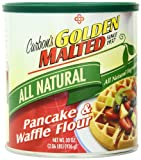 Golden Malted All Natural Waffle & Pancake Mix, 33-Ounce Containers (Pack of 3)