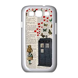 Personalized New Print Case for Samsung Galaxy S3 I9300, Doctor Who Phone Case -539935
