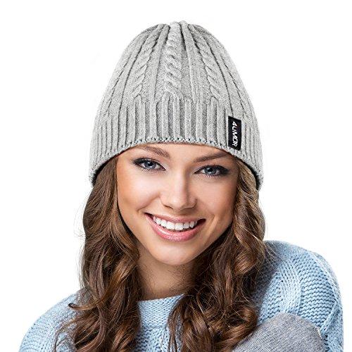4umor Sombrero C Invierno Sombrero punto de EqXFrq