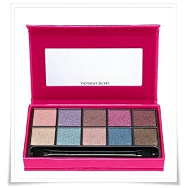 Victoria Secret Spring Shimmer Eye Kit 10 Eyeshadow and a Dual End Applicator
