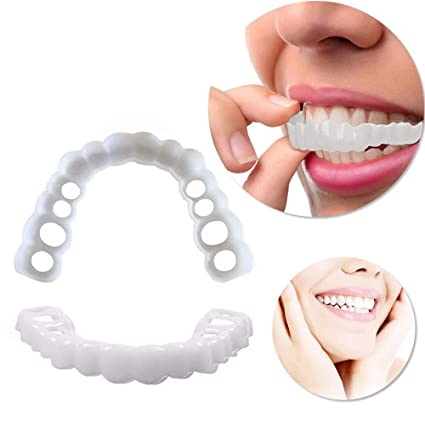 False Tooth Personal Care Veneer Whitening Smile Up and Down