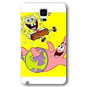 Customized Black FrostedFor Case Ipod Touch 4 Cover Case, SpongeBob SquarePants Patrick StarFor Case Ipod Touch 4 Cover case