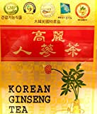korean red ginseng tea - Korean Ginseng Tea in Wood Case 0.10oz(3g) x 100 Packets