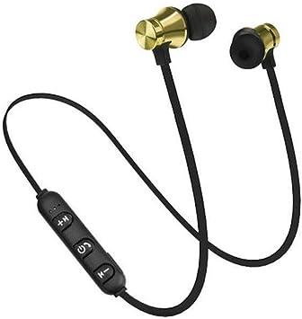 Auriculares inalámbricos Bluetooth Recargables, Deportivos, magnéticos, universales, para teléfonos, tabletas, Smart TV, MP4, Gimnasio, Fitness, Entrenamiento: Amazon.es: Electrónica