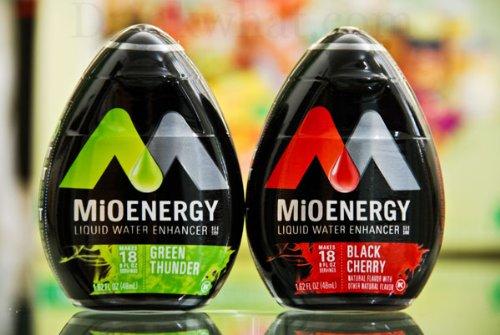 Mio Energy Liquid Water Enhancer Black Cherry & Green Thunder 1.62oz