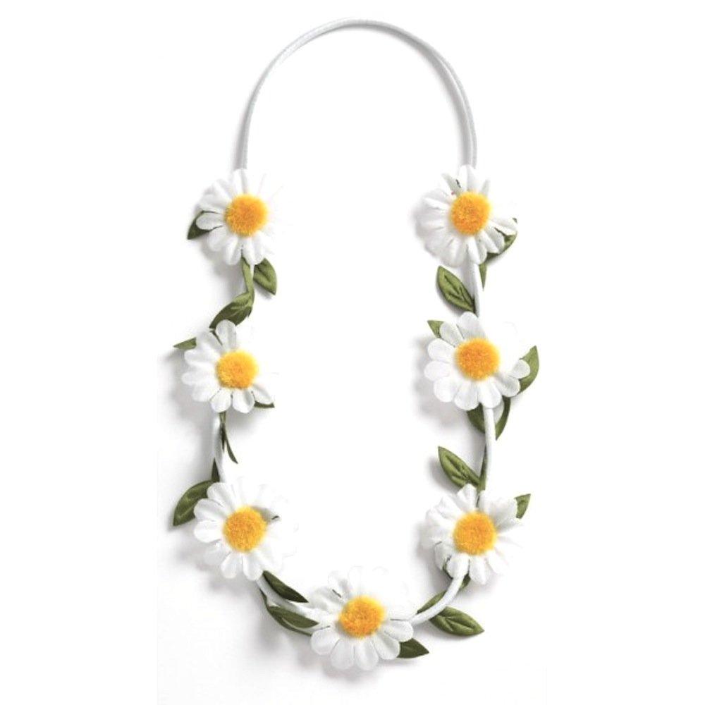 Childrens Daisy Flower Crown Headband Perfect For Flower Girls
