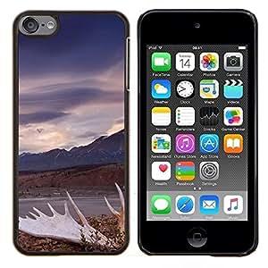 Jordan Colourful Shop - Blue Ocean For Apple iPod Touch 6 6th Generation Personalizado negro cubierta de la caja de pl????stico