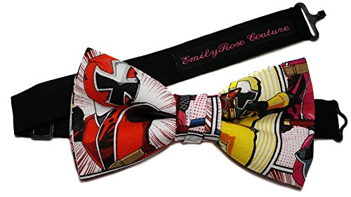 (Star Wars-Super Heroes-Sci Fi-Transformers-Batman-Superman Bow Ties (Group 3) (Medium (6-12 Year Olds), Power Rangers))