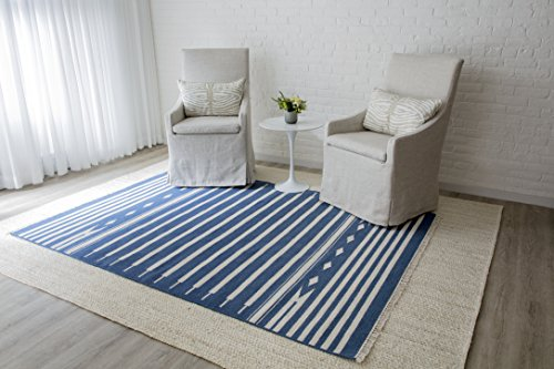 Erin Gates by Momeni Thompson Billings Denim Hand Woven Wool Area Rug 3'6