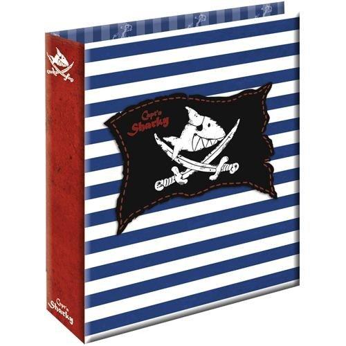 Spiegelburg Materiale Scolastico Bambini Raccoglitore ad Anelli Formato A4 Serie Captn Sharky