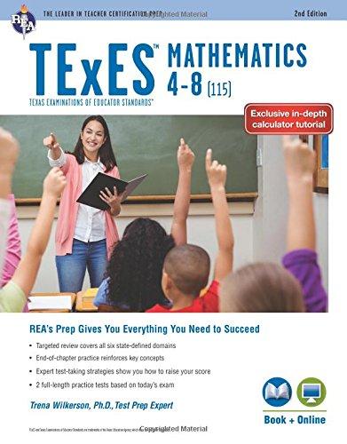 Pdf Math TExES Mathematics 4-8 (115), 2nd Ed., Book + Online