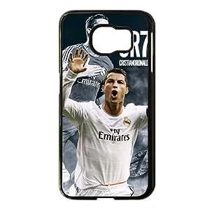 Cristiano Ronaldo CR7 Black Phone Case for Samsung S6