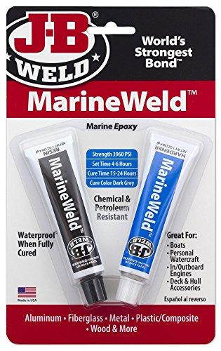 JB Weld 8272 2 Oz Dark Grey Marine Weld Epoxy by J-B Weld