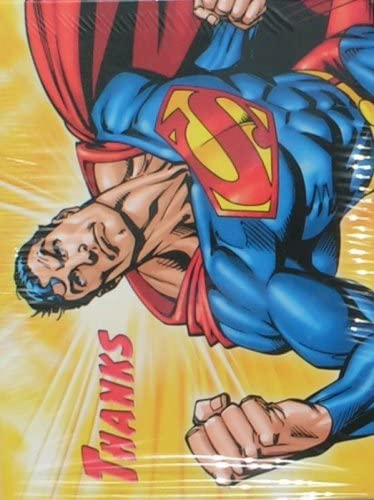 Superman Returns Thank You Notes 8 Count