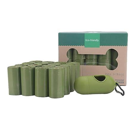 lovecabin Bolsas Caca Perro Biodegradable, Extra Gruesas, A Prueba ...