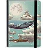 "caseable - Funda para Kindle y Kindle Paperwhite, diseño ""Ocean Meets Sky"""