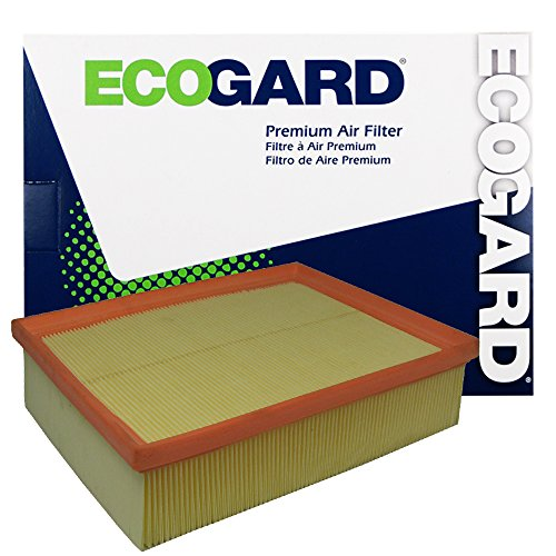 ECOGARD XA5457 Premium Engine Air Filter Fits 2002-2009 Audi A4 Quattro, A4 (Best Audi A4 Engine)
