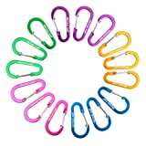 15PCS/PACK Brand new Aluminum Wiregate Carabiner Keychain Clip with 15pcs KeyringFeatures: 1) The premium qualityc Carabiner features a spring loaded gate which allows them to be quickly and securely attached to a wide range of fixing points....
