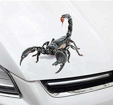 1 PC Cute 3D Scorpion Car Sticker  Vinyl Decal Stickers for Cars Accessories